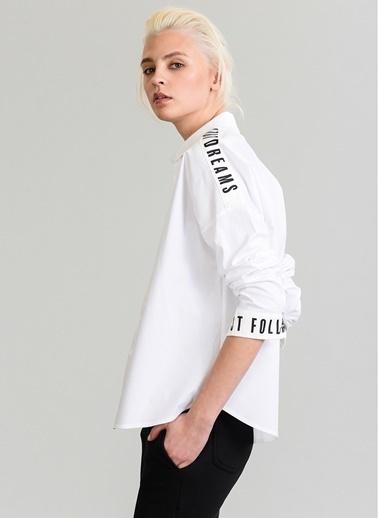 Sloganlı Gömlek-People By Fabrika